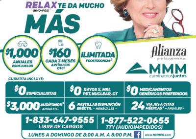 MMM ALIANZA RELAX